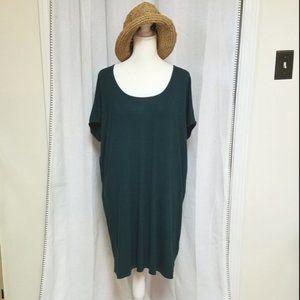 Lilla P dark teal dress